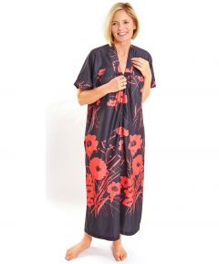 Kaftan - Black and Red