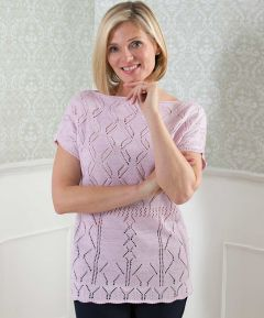 Knitted Short Sleeved Top