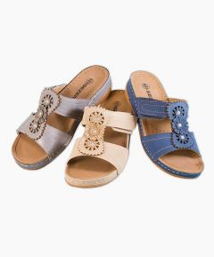 Jenna - Ladies Touch Fastening Sandal
