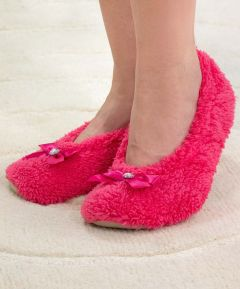 Blissful Ladies Soft Ballerina Slippers