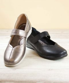 Katie - Ladies One Touch Fastening Shoes