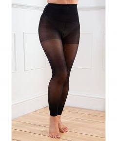 Slimming Compression Footless Tights - 3 Pair Pack