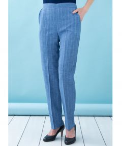 Ladies' Lightweight Stripe Trousers