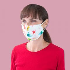 Reusable Face Mask - Butterfly