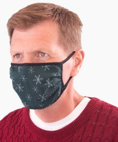 Unisex Snowflake Face Coverings - Pack of 3