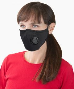 Reusable Face Mask with Valve
