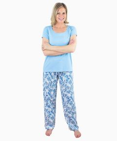 Ladies Jersey Pyjamas