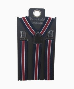 Men's Elasticated Braces Navy