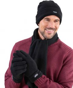 Men's Hat, Scarf and Glove Set