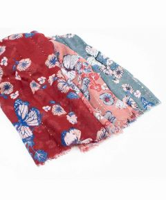 Ladies Butterfly Scarf