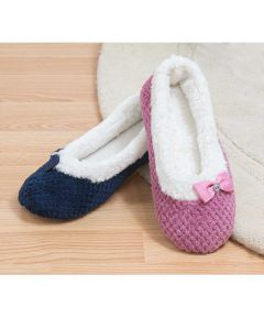 Esther - Warm Lined Ballerina Slipper