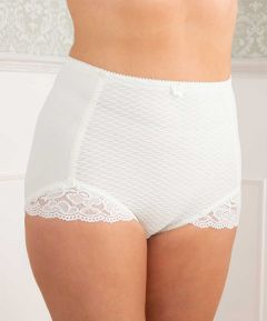 Control Briefs with Lace