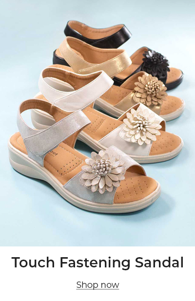 Touch Fastening Sandal
