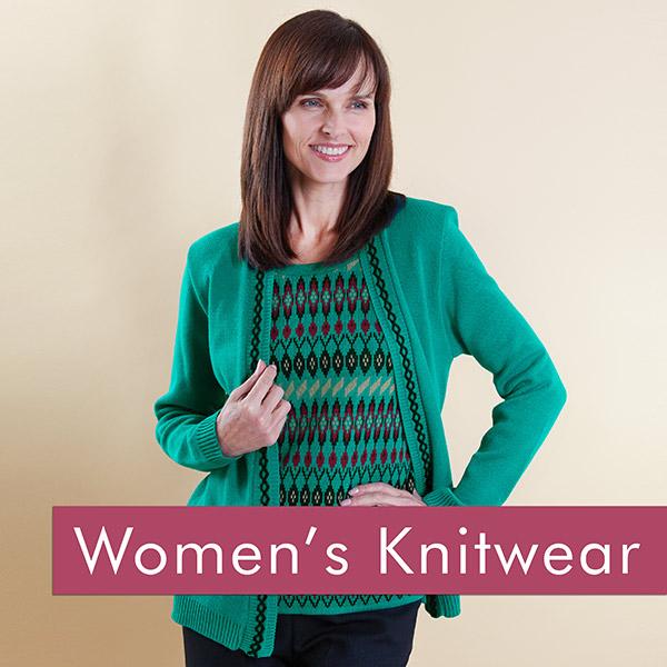 Shop our range of women's knitwear